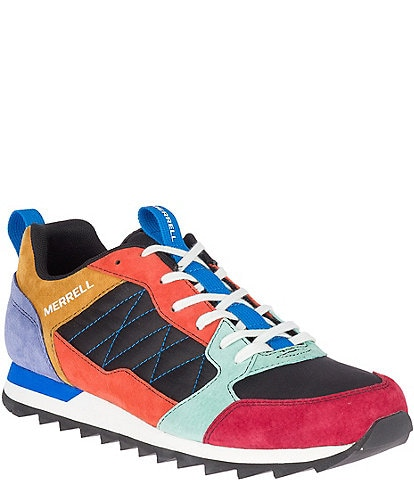 Merrell Men's Alpine Leather & Nylon Lace-Up Sneaker