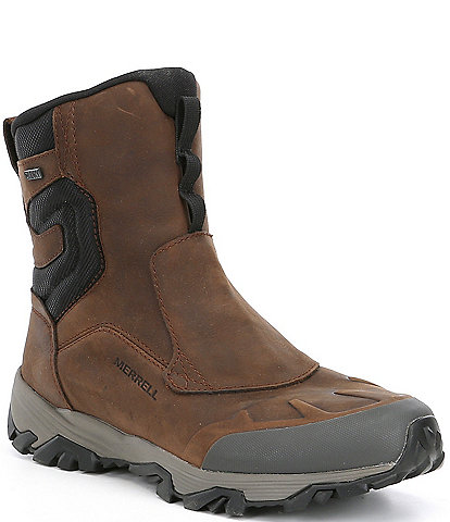 Merrell Men's Coldpack Ice 8#double; Zip Polar Suede Waterproof Winter Boots