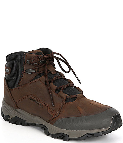 Merrell Men's Coldpack Ice+ Polar Nubuck Leather Lace-Up Waterproof Boots