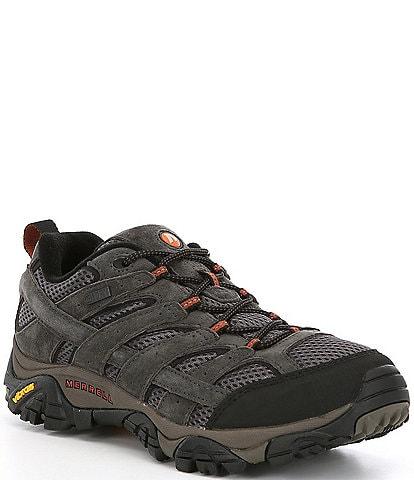 Merrell Men's Moab 2 Waterproof Suede and Mesh Sneakers