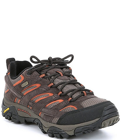 Merrell Men's Moab 2 Waterproof Suede and Mesh Sneakers