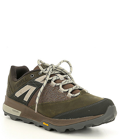 Merrell Men's Zion Leather & Mesh Sneaker