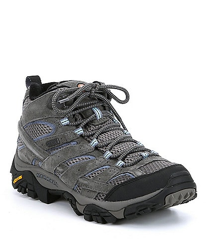 Merrell Moab 2 Mid Waterproof Leather Hiking Shoes