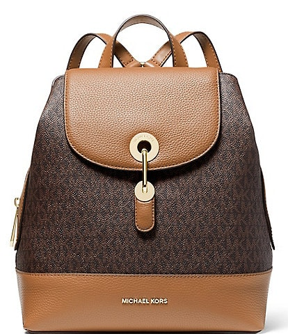Michael Kors Signature Raven Medium Backpack