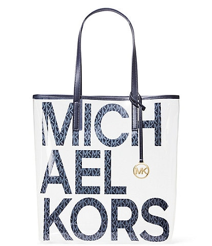 MICHAEL Michael Kors The Michael Clear Large North South Tote Bag