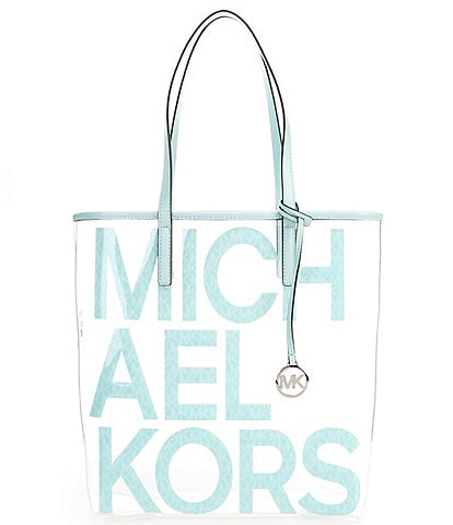Michael Kors The Michael Clear Large North South Tote Bag