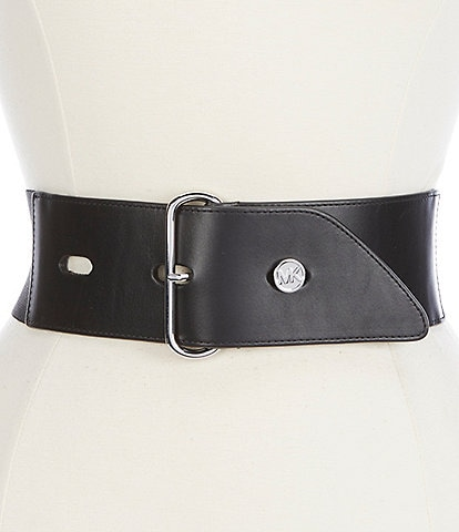 Michael Kors 2.75#double; Stretch Waist Belt