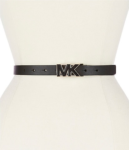 Michael Kors 3/4#double; MK Printed Belt