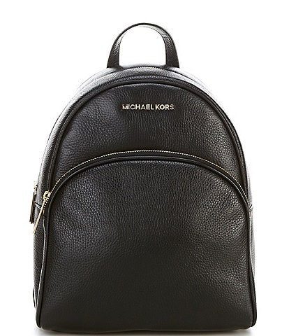 Michael Kors Abbey Pebble Leather Medium Backpack