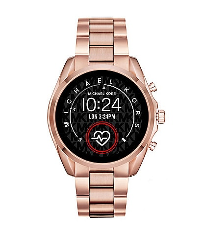 Michael Kors Access Bradshaw Rose Gold Touchscreen Smartwatch