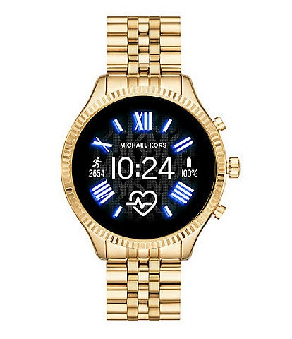 Michael Kors Access Lexington Gold Tone Touchscreen Smartwatch