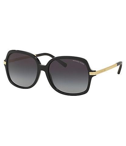 Michael Kors Adrianna II Oversized Square Sunglasses