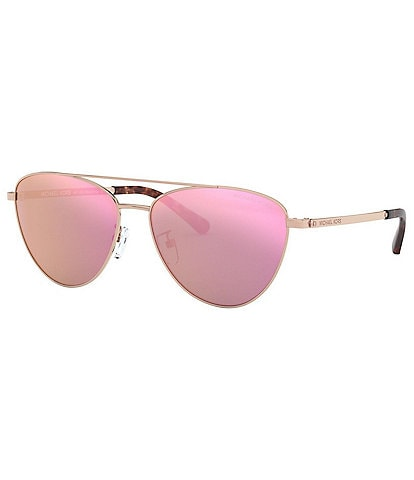 Michael Kors Barcelona Pilot Shape Sunglasses
