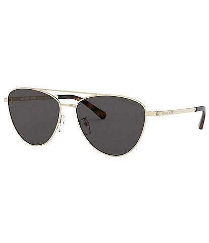 Michael Kors Barcelona Pilot Shape Sunglasses