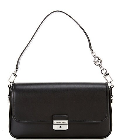 Michael Kors Bradshaw Leather Small Convertible Shoulder Bag