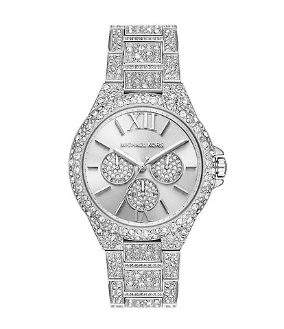 Michael Kors Camille Multifunction Stainless Steel Watch