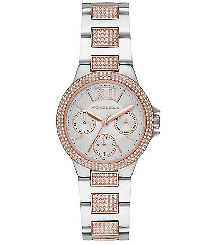 Michael Kors Camille Multifunction Two-Tone Stainless Steel Watch
