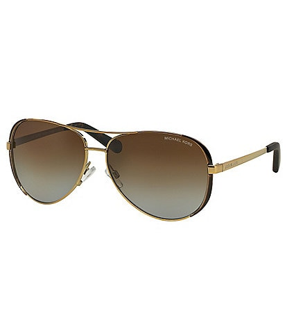 Michael Kors Chelsea Polarized Aviator Sunglasses