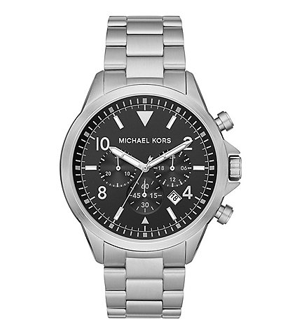 Michael Kors Gage Chronograph Stainless Steel Watch