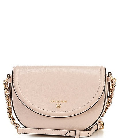 Michael Kors Jet Set Charm Medium Half Dome Chain Crossbody Bag