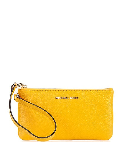 Michael Kors Jet Set Leather Medium Wristlet