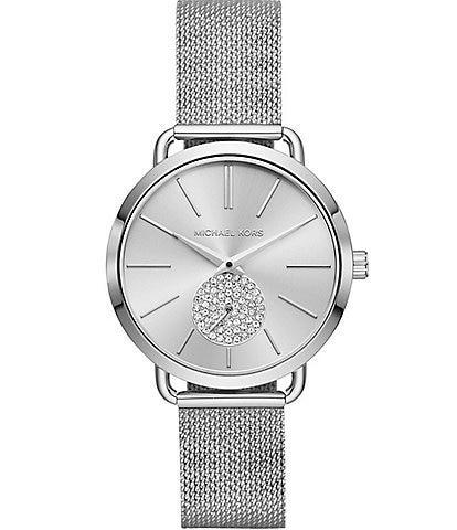 Michael Kors Ladies Portia Stainless Steel Watch