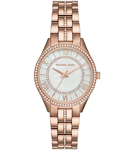 Michael Kors Lauryn Pav Analog Bracelet Watch