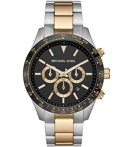 Michael Kors Layton Chronograph Two-Tone Stainless Steel Watch