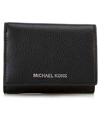 Michael Kors Mason Tri-Fold Leather Wallet