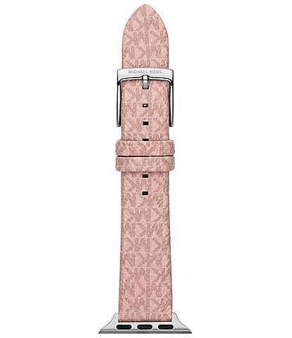 Michael Kors Michael Kors Micro Logo Blush PVC 38/40mm Apple Watch® Strap
