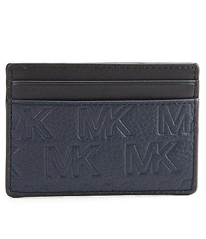 Michael Kors MK Embossed Pebble Mix Card Case