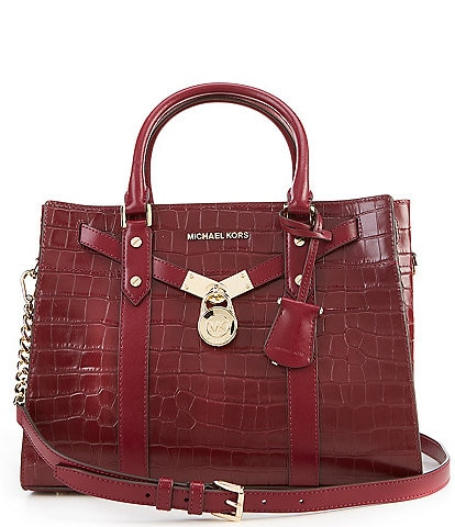 Michael Kors Nouveau Hamilton Large Satchel Bag