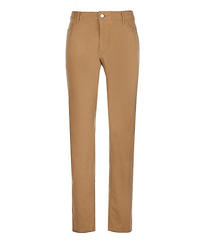 Michael Kors Parker Slim-Fit Stretch 5-Pocket Pants