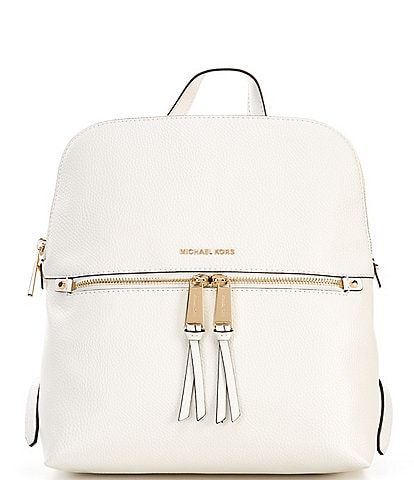 Michael Kors Rhea Embossed Medium Slim Backpack