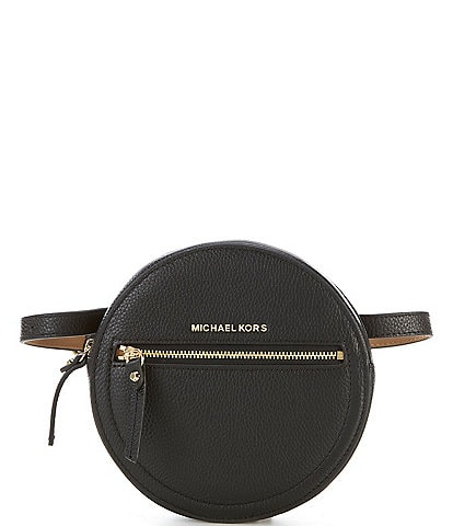 Michael Kors Circle Leather Belt Bag