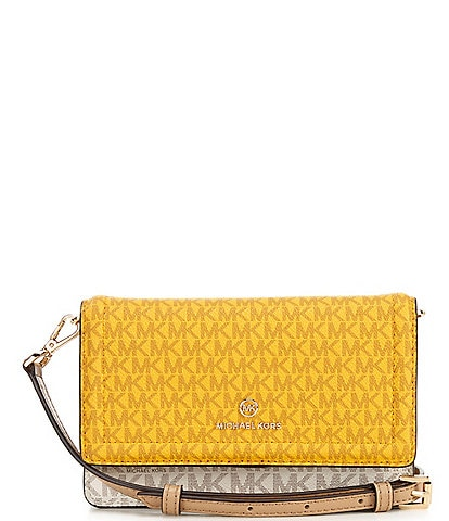 Michael Kors Signature Jet Set Small Phone Crossbody Bag