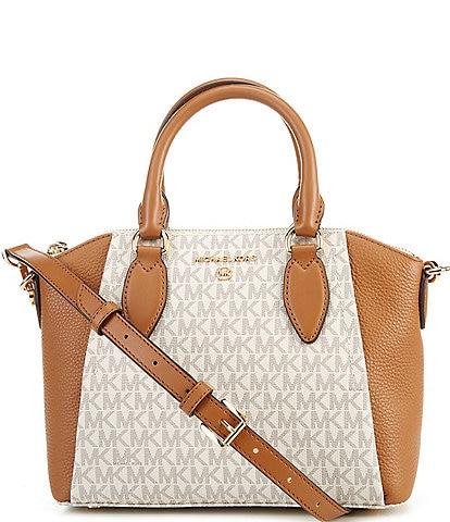 Michael Kors Signature Sienna Medium Messenger Bag