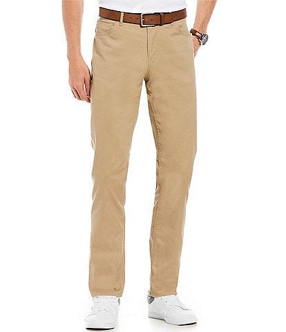 c7a1a79edb9 Michael Kors Slim-Fit Parker Stretch Flat Front Twill Pants
