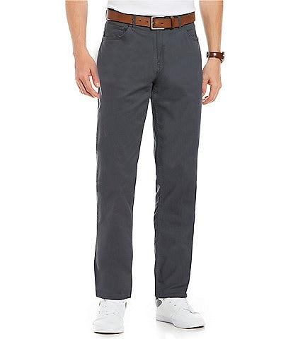 Michael Kors Slim-Fit Parker Stretch Flat Front Twill Pants