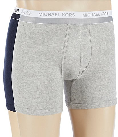 Michael Kors Ultimate Rib Assorted Boxer Briefs 2-Pack