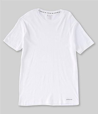 Michael Kors Ultimate Rib Basic Crewneck Tees 2-Pack