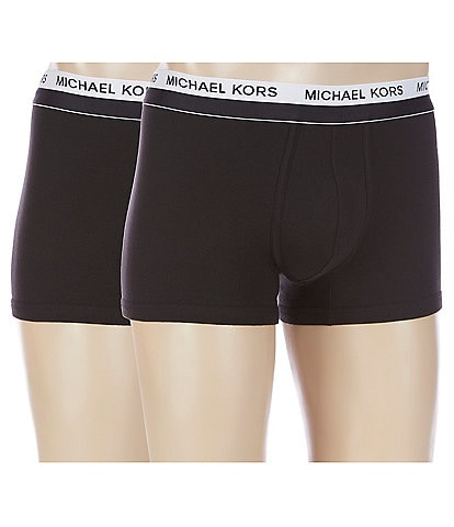 Michael Kors Ultimate Rib Basic Trunks 2-Pack