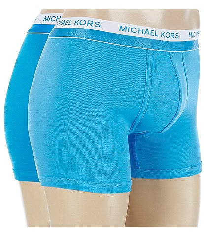 Michael Kors Ultimate Rib Boxer Briefs 2-Pack