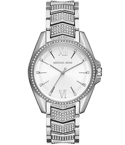 Michael Kors Whitney Pave CZ Bracelet Watch