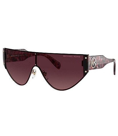 Michael Kors Women's Mk1080 36mm Shield Sunglasses