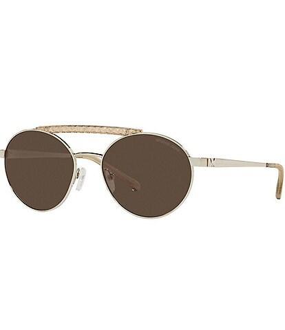 Michael Kors Women's Mk1083 55mm Round Sunglasses
