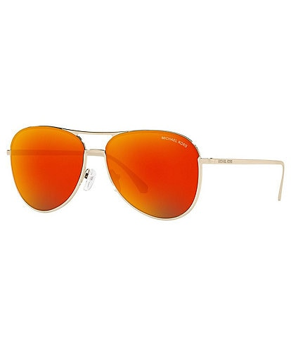 Michael Kors Women's Mk1089 Mirrored Aviator 59mm Sunglasses