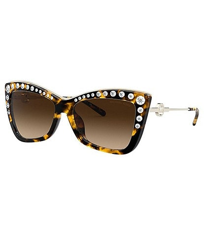 Michael Kors Women's Mk2128bu 55mm Cat Eye Sunglasses