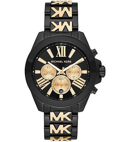 Michael Kors Wren Chronograph Two-Tone Stainless Steel Bracelet Watch