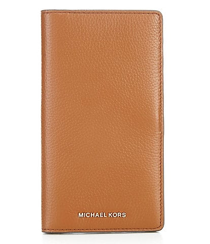 Michael Kors Bedford Legacy Large Pebble Leather Travel Wallet